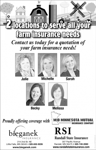 2 Locations to Serve All Your Farm Insurace Needs