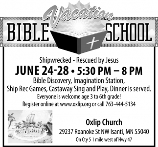 Oxlip Bible Vacation School