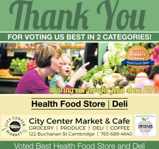 Thank You for Voting us Best in 2 Categories!