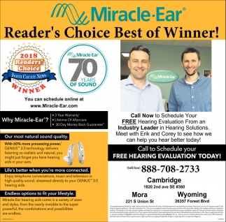 Reader's Choice Best of Winner!