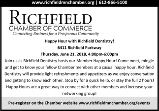 Happy Hour with Richfield Dentistry