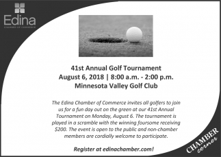 41st Annual Golf Tournament