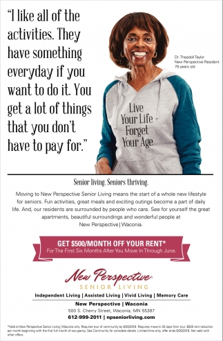 New Perspective Senior Living, Assisted Living & Memory Care