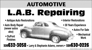 Antique Auto Restorations