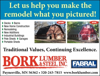 Let us Help You Make the Remodel what You Pictured!