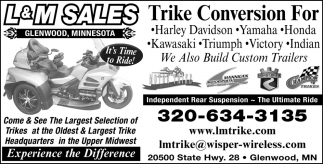Come & See the Larguest Selection of Trikes