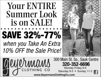 Your Entire Summer Look is on Sale!