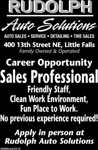 Hiring for a Full-Time Car Wash / Detailer
