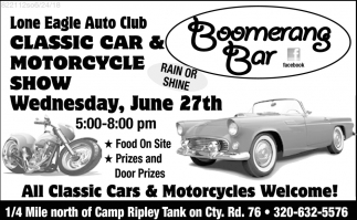 Classic Car & Motorcycle Show
