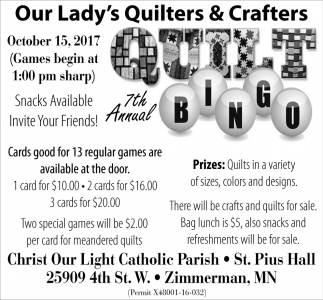 Our Lady's Quilters And Crafters