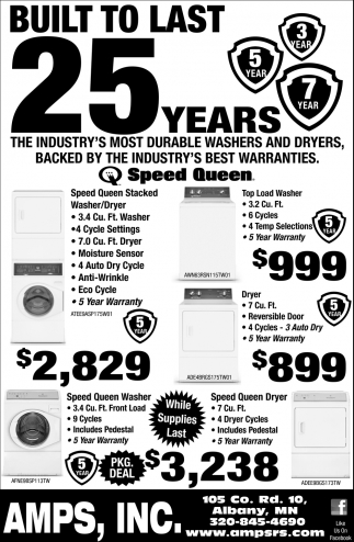 Built to Last 25 Years!