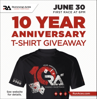 10 Year Anniversary T-Shirt Giveaway