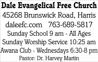 Pastor: Dr. Harvey Martin
