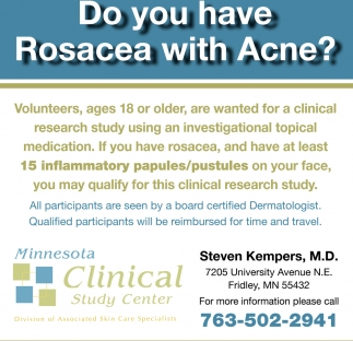 Do You Have Rosacea with Acne?