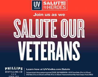 Join us as We Salute Our Veterans