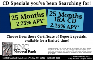 Cd Specials Youve Been Searching For Bnc National Bank