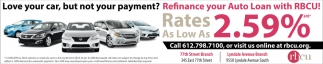 Refinance Your Auto Loan with RBCU!