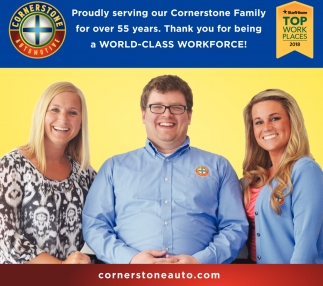 Proudly Serving Our Cornerstone Family for Over 55 Years