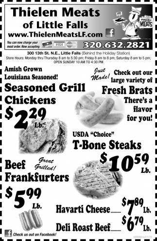 Thielen Meats of Little Falls