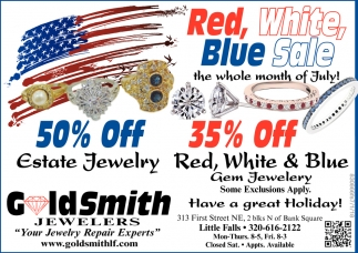 Red, White & Blue Sale!