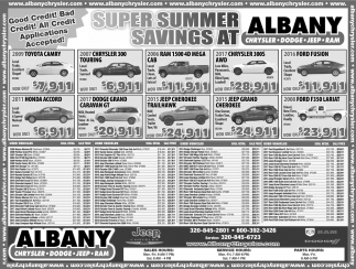 Super Summer Savings