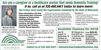 Are You a Caregiver or a Healthcare Worker that Needs Dementia Training?