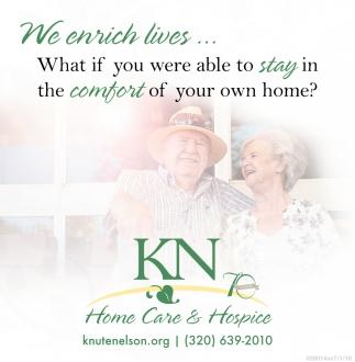 We Enrich Lives!