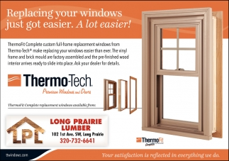 Replacing Your Windows Just Got Easier. A Lot Easier!, LONG PRAIRIE ...