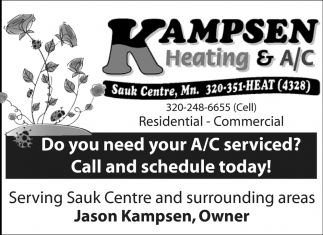 Do you need your furnace serviced? Call and schedule today!