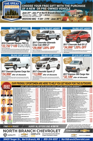 Choose Your Free Gift with the Purchase of a New or Pre-Owned Vehicle