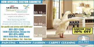 Now Offering Custom Cabinets!