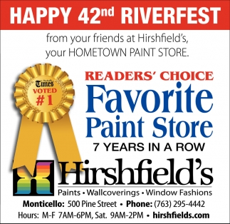 Happy 42nd Riverfest