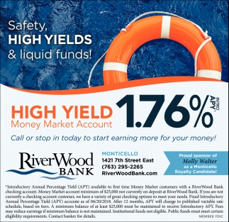 Safety, High Yields & Liquid Funds!