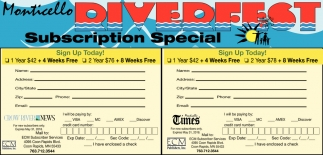 Monticello Riverfest Subscription Special