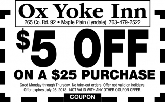 Ox Yoke inn Restaurant