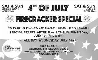 4th of July Firecracker Special