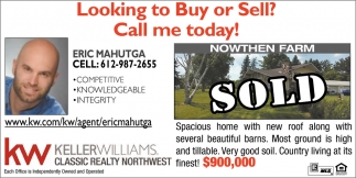 Looking to Buy or Sell?, Call me Today!