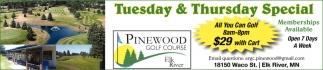 Tuesday & Thursday Special