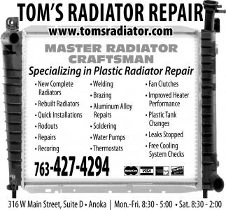 Master Radiator Craftsman