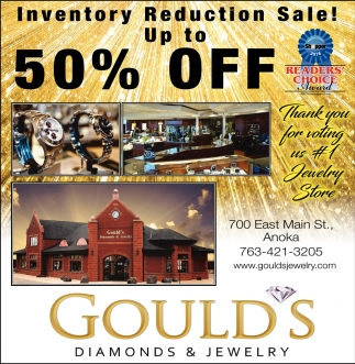 Inventory Reduction Sale!