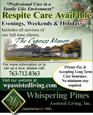 Respite Care Available