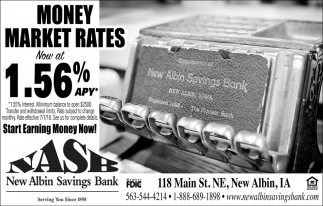 Moey Market Rates Now at 1.56% APY