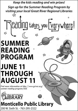 Reading Takes You Everywhere!