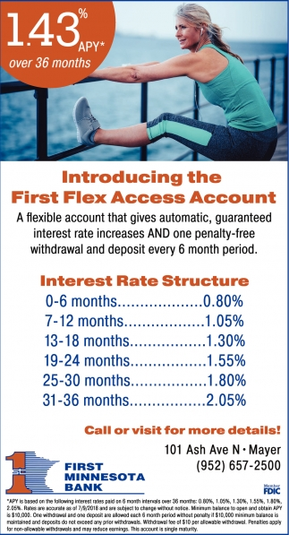 Introducing the First Flex Access Account