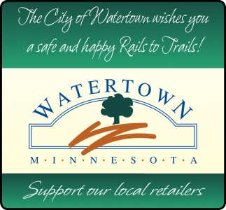 The City of Watertown Wishes You a Safe and Happy Rails to Trails!