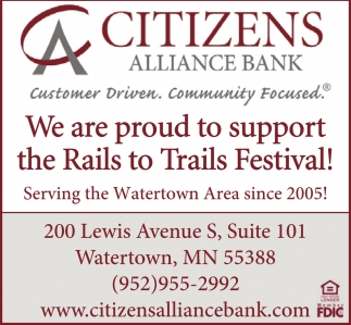 We are Proud to Support the Rails to Trails Festival