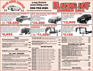 Blazing Hot Summer Sale