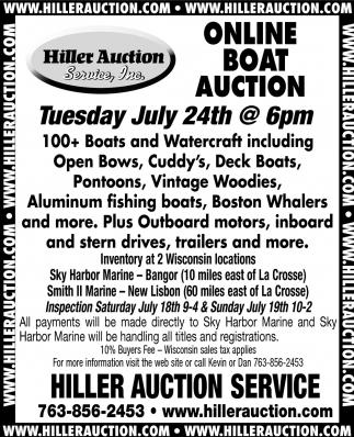 Online Boat Auction