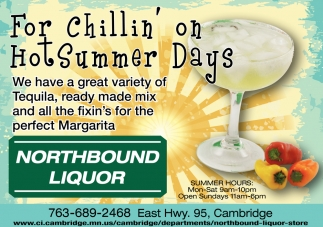 For Chillin' on Hot Summer Days