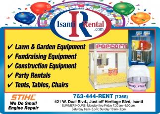 Fundraising Equipment